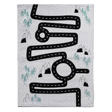 adairs kids printed road map floor rug home gifts rugs adairs kids