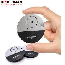 Doberman Security Ultra Slim Design Security Alarm Us 7 29 Doberman Security Se 0106 Entry Defender With Chime Home Electronic Wireless Vibration Sensor Home Security Alarm Door Window In Sensor