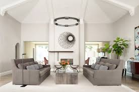 feng shui living room furniture. Photo 4 Of 7 Feng Shui Living Room Colors Contemporary With Tall Sofas Metal Wall Art ( Furniture