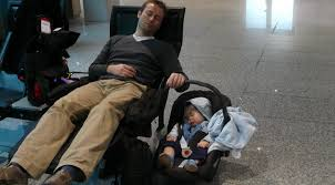 take a quick nap at the airport