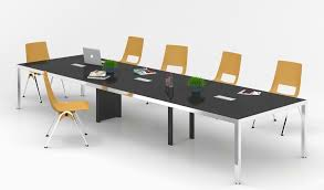 Modern office look Office Chairs Staggering Range Of Modern And Cutting Edge Office Tables Conference Tables Made By Experts And Young Creative Professionals Our Vast Range Of Conference Hasimo Desk All Categories Modern Office Furniture Bossescabin