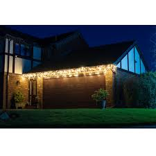 Costco Patio Lights Lights4you Outdoor 4m 13ft 1 152 Led Warm White Icicle Lights Costco Uk