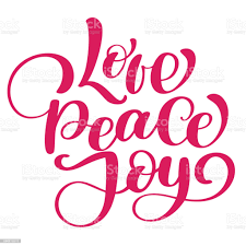 Love Peace Joy Christmas Quote Ink Hand Lettering Modern Brush Calligraphy  Handwritten Phrase Inspiration Graphic Design Typography Element Cute  Simple Vector Sign Stock Illustration - Download Image Now - iStock