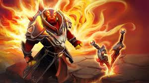 dota 2 hero ember spirit flame fist swords skin desktop wallpaper