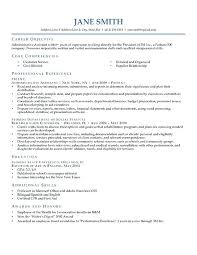 Career Objective Examples For Resume Finance. Professional Objective ...