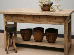 Rustic Kitchen Sideboard Room With Photo Gallery Of The Buffet Table Decorating Ideas