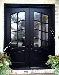 black double front doors. Simple Black Black Double Front Entry Doors Door Handles And Regarding  Dimensions 1844 X 2335