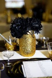 black and gold decoration for tables table designs