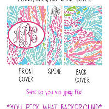 Free Printable Binder Covers Lilly Pulitzer Download Them Or Print
