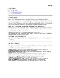 Video Resume Examples Best Template Collection Throughout Video