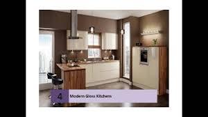 Cream Gloss Kitchens Magnet Kitchens Gloss White Cream Youtube