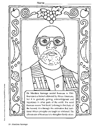 Small Picture Dr Maulana Karenga Coloring Page Color Book