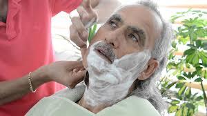 Image result for images barber shaving beards