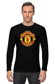 """Лонгслив """"<b>Манчестер Юнайтед</b>"""" #688813 от tailors - <b>Printio</b>"""