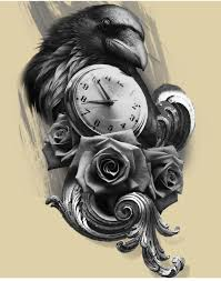 пин от пользователя Sleng Tattoo на доске птицы фениксы ворон тату