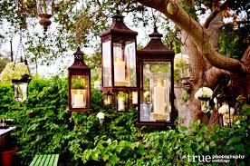 outdoor tree lantern lights designs