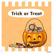Varieties of Halloween candy in a smile jack o lantern - stock vector    Crushpixel
