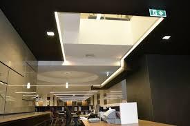modern office ceiling. Modern Office Ceiling Lights : Thomson Adsett Architects