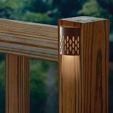 easy to install the saguaro solar deck light is a practical solution to lighting the staircase on your deck the light automatically turns on at dusk after