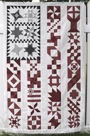 Old Glory (Sampler) - Walnut Street QuiltsWalnut Street Quilts & Old Glory (sampler) 2014. Yellow Creek Quilts design Adamdwight.com