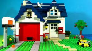 Lego Full House Lego Creator Apple Tree House 5891 Youtube