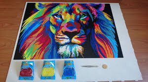 Mini Perler Bead Patterns Mesmerizing I Spent 48 Hours Using Tweezers And 48k Beads To Made A Lion