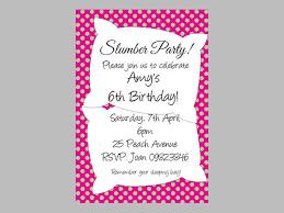 16 Slumber Party Invitation Designs Templates Psd Ai