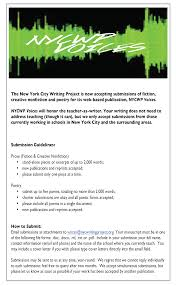 nycwp voices flier cover letter for poetry submission