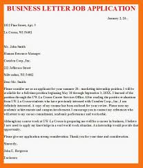 Business Letter Application Sample 2 Bletter 2 Bjob 2 Bapplication