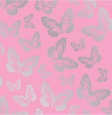 Pink Bedroom Wallpaper Hoopla Pink Butterfly Butterflies Kids Childrens Bedroom 10m