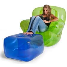 ... Marvelous Room Decoration Ideas With Inflatable Chairs For Kids  Interior Design : Adorable Green Clear Plastic ...