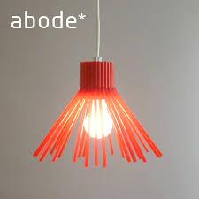 abode abode pendant lamp red straw pendant lamp umeno s light shades lighting light cover hanging lights designer furniture