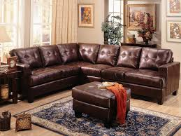 brown leather sectional sofas. Plain Brown Samuel Brown Leather Sectional Sofa By Coaster  500911 Inside Sofas R