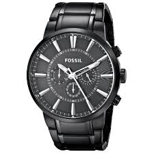 fossil men s fs4778 black stainless steel analog quartz watch fossil men s fs4778 black stainless steel analog quartz watch black dial