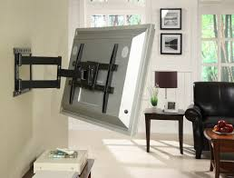 flat screen tv mount. Fine Mount Large Articulating Mount For 37 Inch To 64 Flat Screen TV In Black To Tv