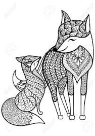7 Best Fox Images In 2018 Animal Coloring Pages Coloring Books