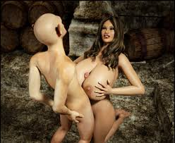 Busty sexually bizarre slut gets her giant appetizing melons.