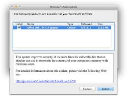 Mircosoft Word For Mac Microsoft Office For Mac 2011 14 5 4 Update Patches Multiple