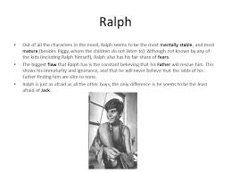 the theme fear in ldquo lord of the flies rdquo zak dunn a ppt 4 ralph