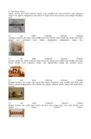 Gendang kecil yang memiliki dua sisi tabuh ini menjadi salah satu alat musik tradisional di indonesia. 33 Alat Musik Tradisional Indonesia Dan Asal Daerahnya
