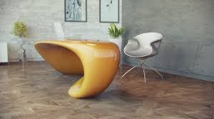extravagant home office room. Evfyra By Nuvist 10 Extravagant Office Desk Showcasing A Fluid Shape: Table NUVIST Home Room