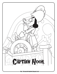 Printable Coloring Pages pirate coloring pages free : Jake And The Neverland Pirates Coloring Pages - GetColoringPages.com