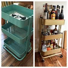 Bar Cart Ikea Hack