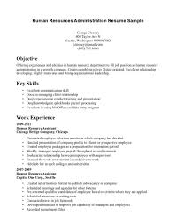 Hr Objectives For Resume Humanrces Objective For Resume Specialist Coordinator Examples Job 22