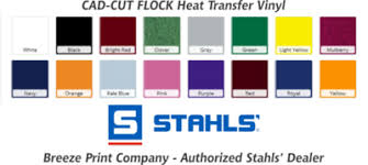 Stahls Flock Heat Transfer Vinyl By The Sheet Pack Or Roll