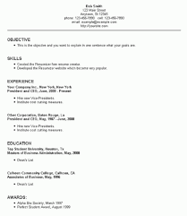 Resume Set Up Extraordinary Resume Setup Examples Writing Ameriforcecallcenterus