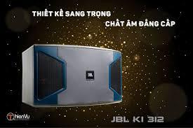 Loa karaoke JBL KI 312 huyền thoại