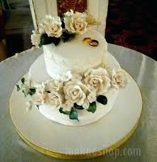 2 Tier Wedding Cakes Two Tier Wedding Cake 2 Tier Wedding Cake With