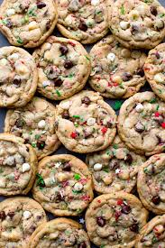 Savor the flavor of christmas with just one bite into a chocolate and peppermint candy cookie. 75 Christmas Cookies Free Ingredient List Printable Sally S Baking Addiction