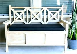 wooden bench with cushion wood bench with cushion outdoor storage bench outdoor wooden storage bench outdoor